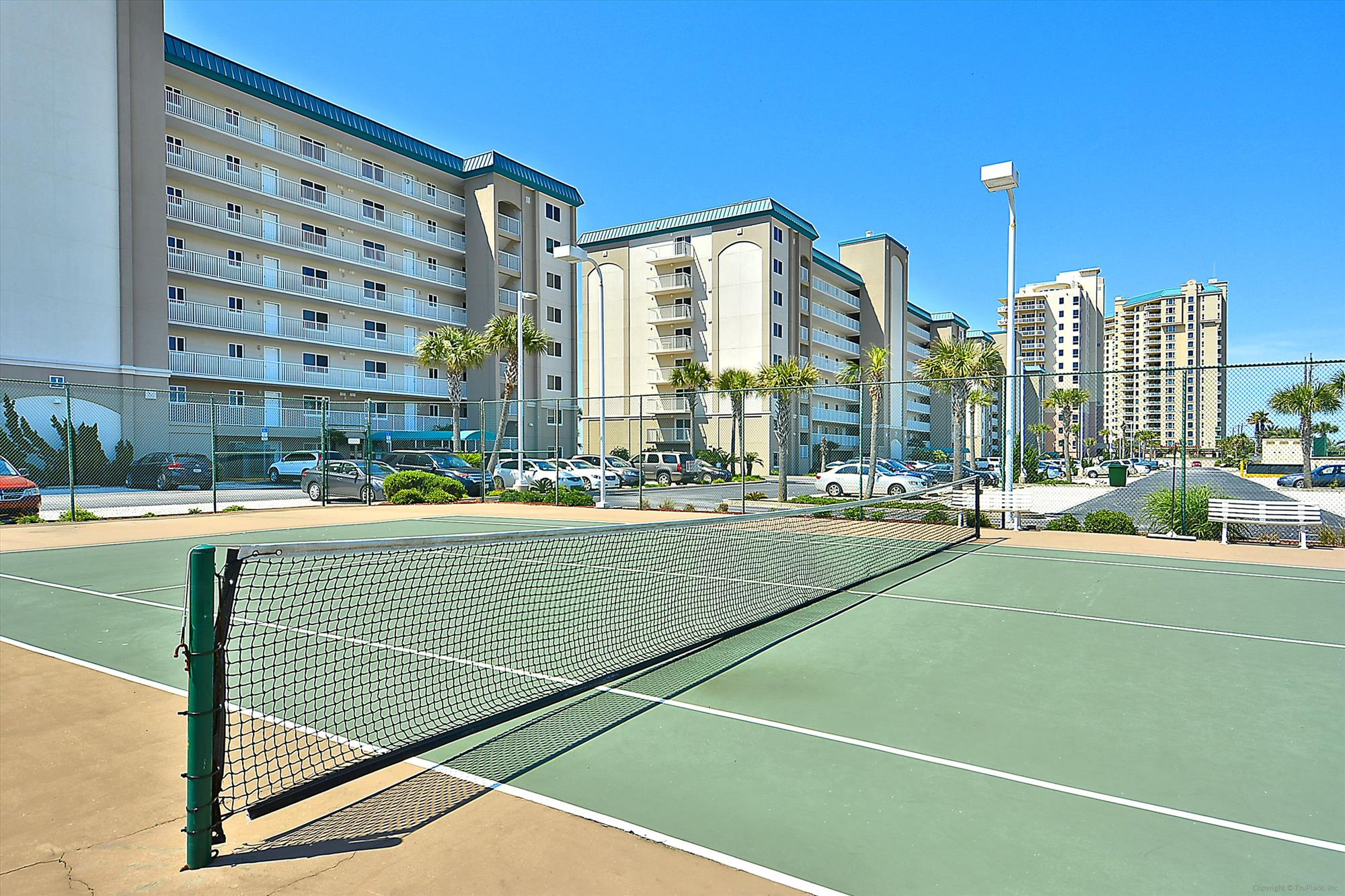 Amenity,Sandy Key Condominiums Tennis Court,